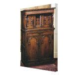 24:Hall cupboard, oak, c.1600 Canvas Print