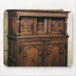 24:Hall cupboard, oak, c.1600 Mouse Pad