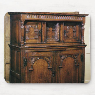 24:Hall cupboard, oak, c.1600 Mouse Pad