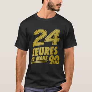 24 Heurs Du Le Mans 90 Ans Gold T-shirt