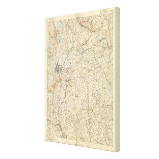 24 hojas de Danbury Impresión De Lienzo