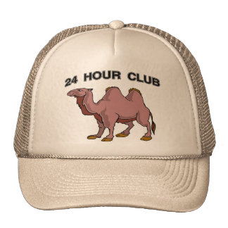 24 HOUR CLUB TRUCKER HAT