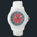 "24-HOUR CUSTOM WATCHES<br><div class=""desc"">See my store (OTHER &gt; MISCELLANEOUS) for color choices of this design. Wall clocks and aqua clocks also available.</div>"