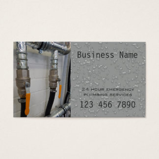 24 hour emergency plumber - silver card