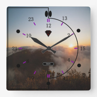 24 hour Picture Wall Clock