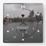 24 hour Time Zone Picture Wall Clock (SD-W)