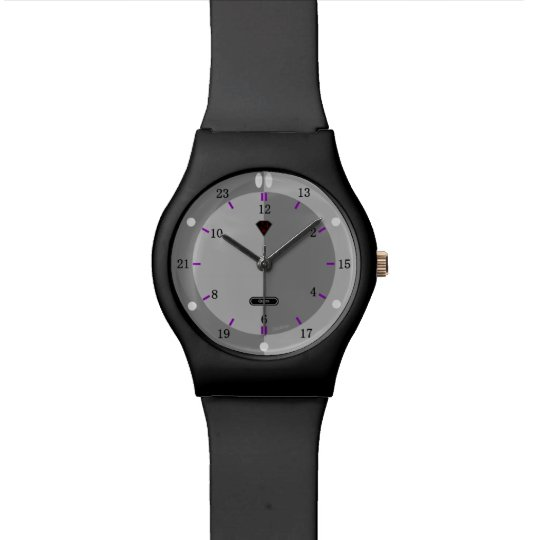 24 hour Watch (Gray Dial)