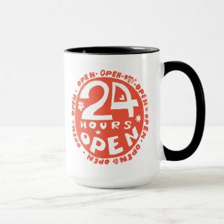 24 Hrs open Mug