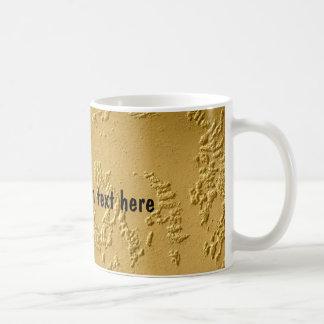 24 Karat Gold Personalized Coffee Mug