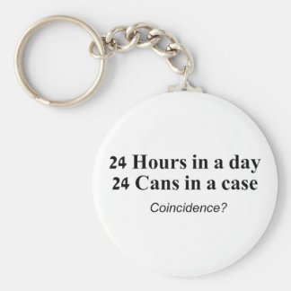 24 latas en un caso llavero redondo tipo pin