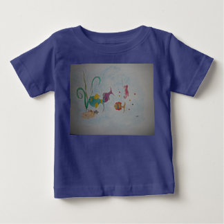 24 month baby t-shirt with fish picture