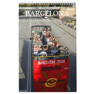 24 month Barcelona, Spain Calendar