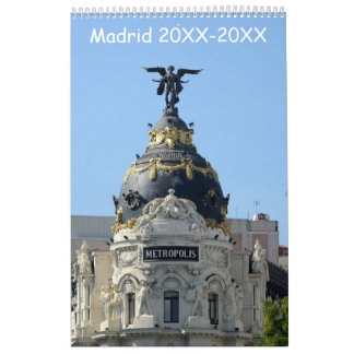 24 month Madrid Calendar