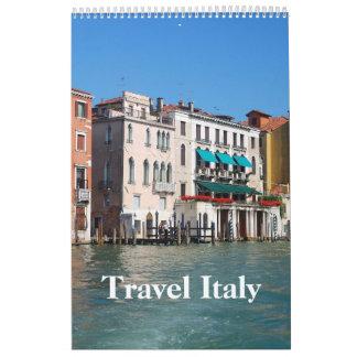 24 month Travel Italy Custom Printed Calendar