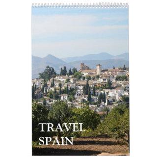 24 month Travel Spain Calendar