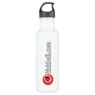 24 oz. Water Bottle - Kickball.com Wordmark