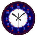 24 plantillas militares del reloj de tiempo de la