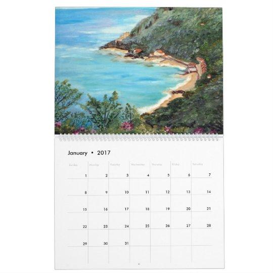 24 prints art book calendar