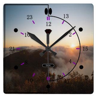 24 relojes de pared de la imagen de la hora