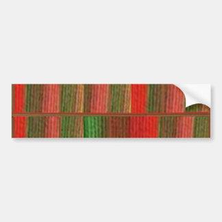 24 Romantic Burning Desire Streaks n Stripes Bumper Sticker