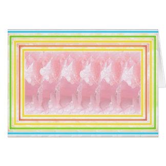 24 Romantic Burning Desire Streaks n Stripes Card