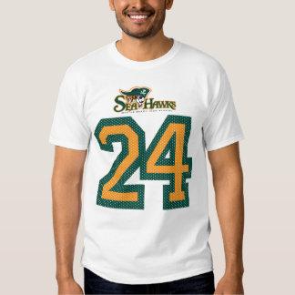 #24 Seahawk Jersey Tee Shirt