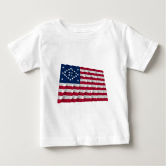 24-star flag, Diamond Frame, Outliers Baby T-Shirt