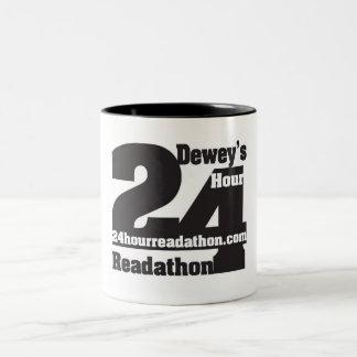 24 tazas del tono de Readathon dos de la hora de