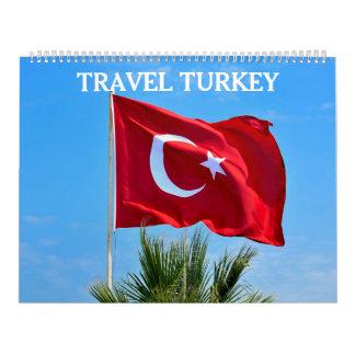 24 viajes Turquía del mes Calendario De Pared