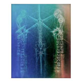 """24""""X30"""" TRANQUIL TRANSMUTATION POSTER (OPEN)"""