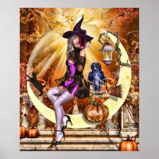 """24"""" x 20"""" Fhoghair Ghealach ~Harvest Moon~ Poster"""