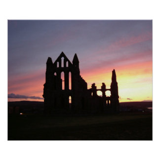 "24"" x 20"" Poster of Whitby Abbey, UK, England"