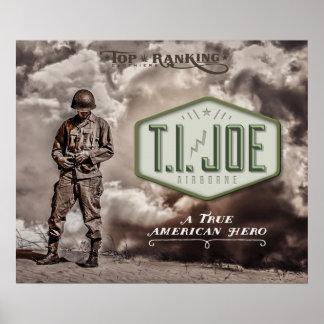 """24"""" x 20"""" T.I. Joe Poster"""