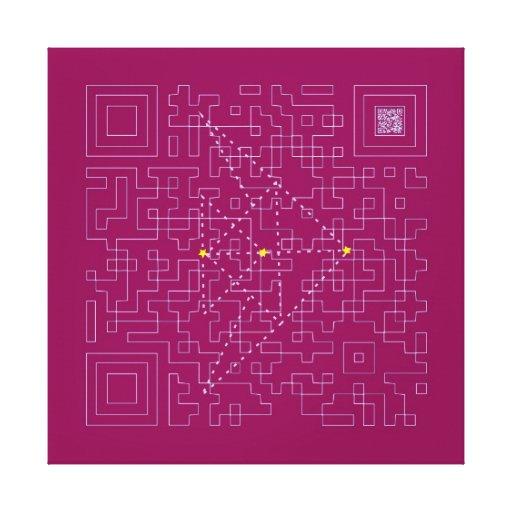 """24"""" x 24"""", 1.5"""", Single ORIKAMI - SAKANA Canvas Print"""