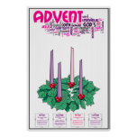 "24"" x 36"" Advent Poster"