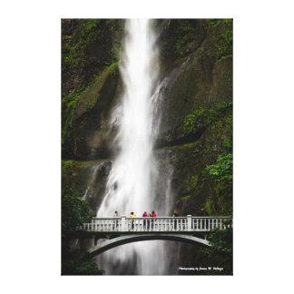 24 x 36 Multnomah Falls Canvas Prints