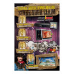24 x 36 Stake Your Claim Referral Rewards Poster