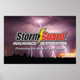24 X 36 Storm Guard Logo Poster