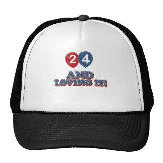 24 y amor de lo gorro