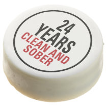 24 Years Clean and Sober Chocolate Covered Oreo