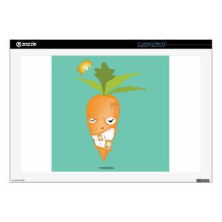 """24k carrot reggae 17"""" laptop skin"""