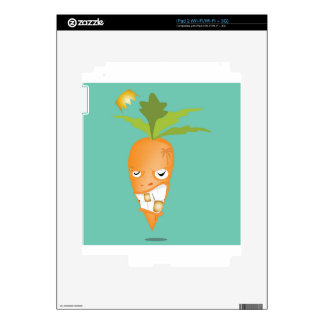 24k carrot reggae decals for the iPad 2