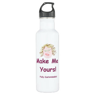 24oz BPA FREE water bottle! ~ fully customizable! Water Bottle
