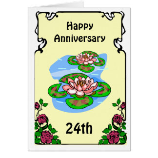 Wedding Anniversary Gifts 24th Year : 24th Wedding Anniversary T-Shirts, 24th Anniversary Gifts
