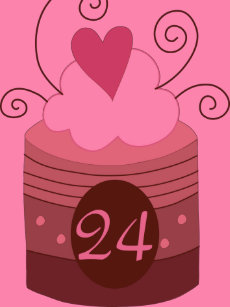 24th Birthday Gift Ideas For Her T Shirt