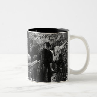 24th December 1891: A country house party Two-Tone Coffee Mug