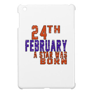 24th February a star was born iPad Mini Cover