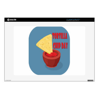 24th February Tortilla Chip Day - Appreciation Day Laptop Skins