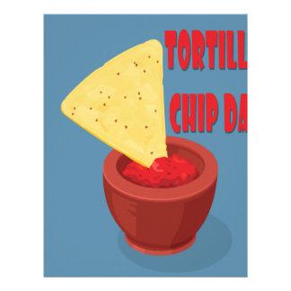 24th February Tortilla Chip Day - Appreciation Day Letterhead