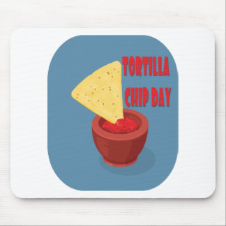 24th February Tortilla Chip Day - Appreciation Day Mouse Pad
